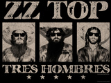ZZ Top - Tres Hombres, 1973 Posters