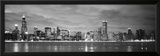Buildings at the Waterfront, Chicago, Illinois, USA Framed Photographic Print by  Panoramic Images