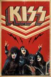 KISS - Retro Bolts Poster