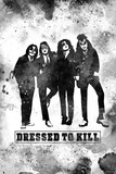 KISS Watercolor - Dressed to Kill Poster