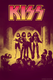 KISS - Retro Purple Print