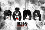 KISS Watercolor Affiches