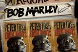 Reggae Records NYC Plastikskilt