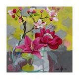 Apple Blossom Trio Prints by Jennifer Rasmusson