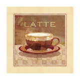Latte Poster par Linda Maron