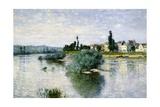 The Seine at Lavacourt Posters por Claude Monet