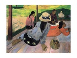 The Siesta Pôsters por Paul Gauguin