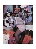 Harlem Nocturne Poster by Gary Kelley