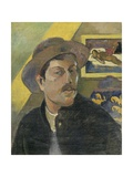 Self Portrait with a Hat Pôsters por Paul Gauguin