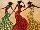 Rhythm Kunst av Monica Stewart