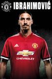 Manchester United - Zlatan Stand 17/18 Prints