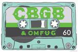 CBGB & OMFUG - Cassette Tape Poster