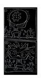 Untitled, 1984 Giclee-trykk av Keith Haring