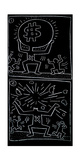 Untitled, 1984 Stampa giclée di Keith Haring
