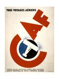 Tous Voyages Aeriens Posters