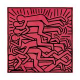 Untitled, 1982 Lámina giclée por Keith Haring