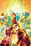Avengers Stretched Canvas Print by Alex Ross