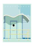 Art Deco-South Beach Poster by Richard Weiss