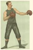 Vanity Fair Boxing Posters by  Spy (Leslie M. Ward)