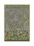 Garden Tapestry III Kunstdruck von Eugene Grasset