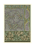 Garden Tapestry III Láminas por Eugene Grasset