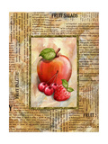 Mixed Fruit I Poster by Abby White