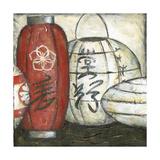 New Year Lanterns III Prints by Chariklia Zarris