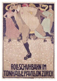 Rullschuhbahn Giclee Print by Burkhard Mangold