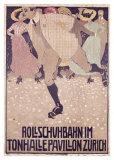 Rullschuhbahn Giclee Print by Burkhard Mangold