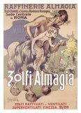 Zolfi Almagia Giclee Print by Adolfo Hohenstein