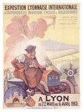 Exposition Lyonnaise Giclee Print by Marcellin Auzolle