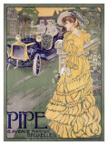 Pipe Giclee Print by Georges Gaudy