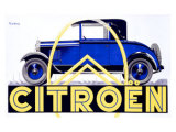 Citroen Giclee Print by Roger de Valerio