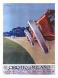 Circvito di Milano Giclee Print by Aldo Mazza