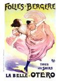 Folies Bergere, Belle Otero Giclee Print by  PAL (Jean de Paleologue)