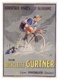 Bicicleta Gurtner Lámina giclée por  Mich (Michel Liebeaux)