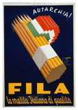 Fila Pencil Lámina giclée