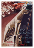 2nd Salone Automobile Italia Giclee Print by Giuseppe Riccobaldi