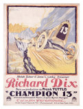 Richard Dix Champion 13 Giclee Print by  Brantome