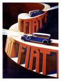 Fiat Giclee Print by Giuseppe Riccobaldi