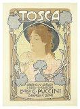 Tosca Giclée-Druck von Leopoldo Metlicovitz