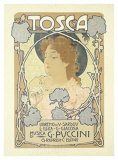 Tosca Giclee Print by Leopoldo Metlicovitz