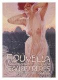 Flouvella-Parfüms Giclée-Druck von Leopoldo Metlicovitz