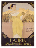 Lauris Savze Freres Paris Giclee Print