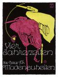 Vier Jahreszeiten Giclee Print by Ludwig Hohlwein