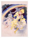 Folies Bergere, Arc En Ciel Giclee Print by Jules Chéret