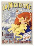 La Micheline Giclee Print by M. Tognarelli