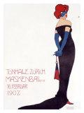 Tonhalle Zurich Maskenball Giclee Print by Sigismund Righini