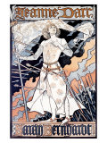 Jeanne d'Arc, Sarah Bernhardt Giclee Print by Eugene Grasset