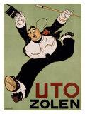 Uto Zolen Giclee Print by Charles Verschuuren